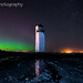 Southerness Lighthouse Aurora by .Brian Kerr Photography.