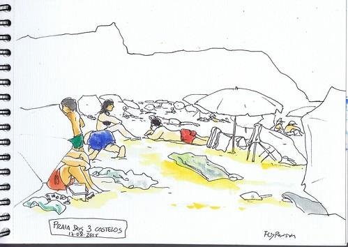 2015.08.17 Praia dos 3 Castelos