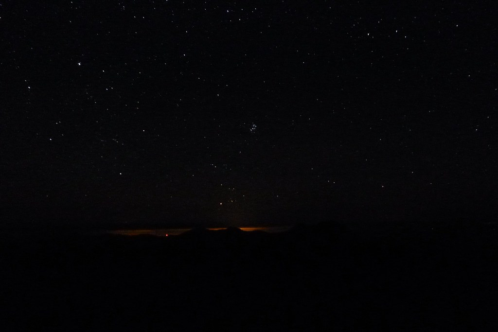 Stargazing from Sgùrr nan Ceathreamhnan