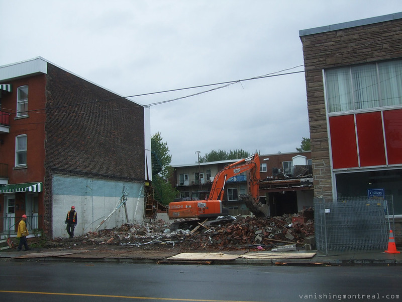 Demolished building on Bannantyne 1