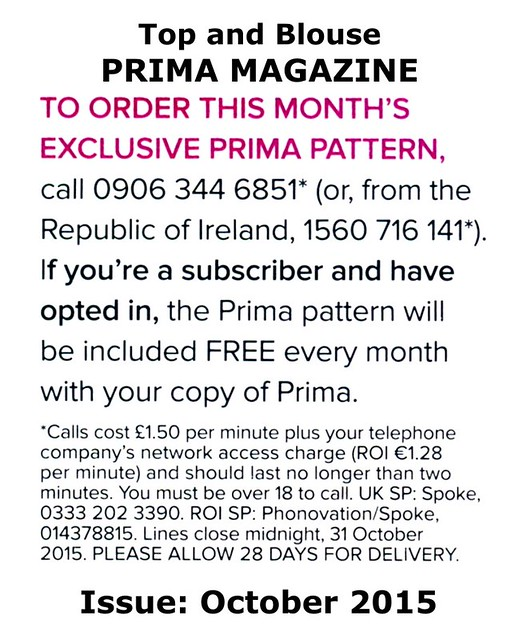 Prima Magazine - Pattern, October 2015 (04)