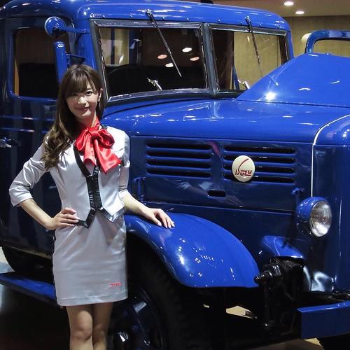 ISUZUのトラック、かっこいい。いすゞだね。 #東京モーターショー #tms2015 #isuzu