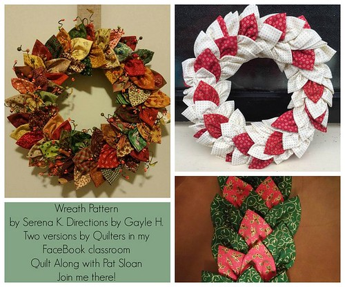 pat sloan wreath by serena directions