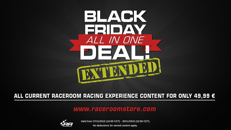 RaceRoom Racing Experience Black Friday All-In-One deal