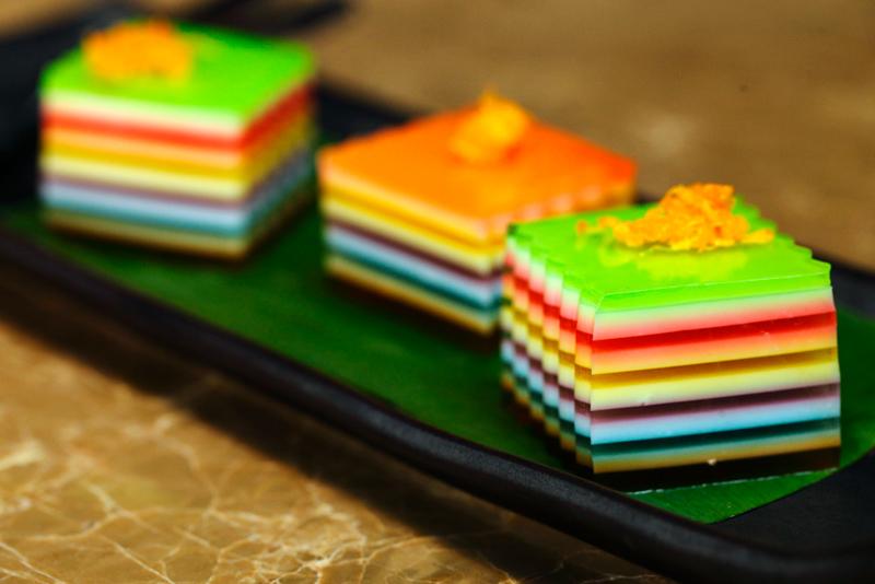 Rainbow Coconut Jelly
