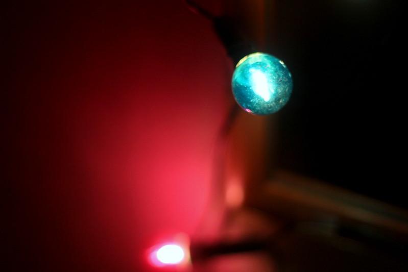 värivalot joulu