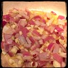#homemade Sun-dried Tomato & Artichoke Sauce #CucinaDelloZio - sauté onions, garlic & hot pepper