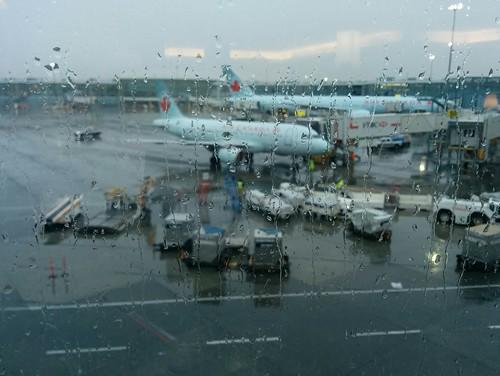 Rainy Vancouver waypoint