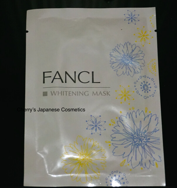 Fancl Whitening Mask