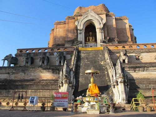 Chiang Mai: temple Wat Chedi Luang