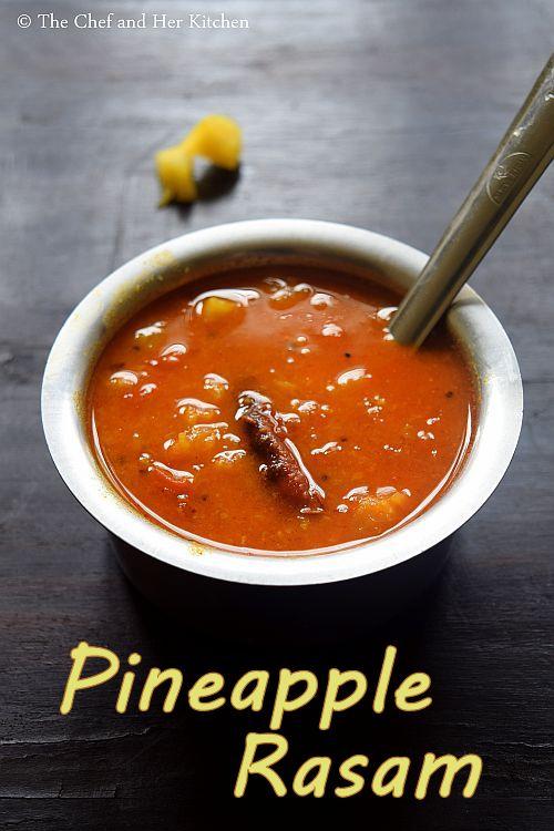 pineapple rasam
