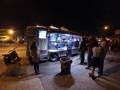Another night, another #tacotruck #tacos #burrito #dinner #street #food