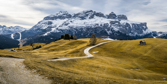 A path in the Dolomites - Alta Badia, Italy - Landscape photography