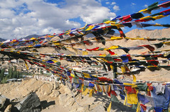 Prayer flags, Leh