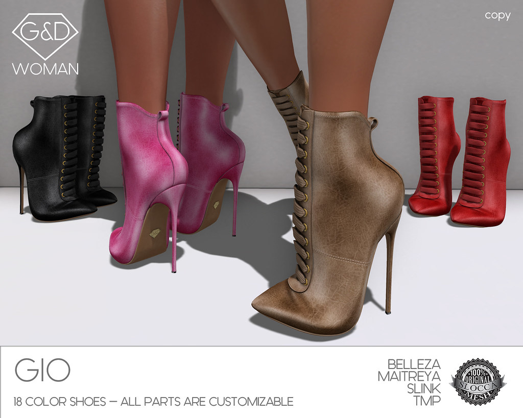 G&D Ankle Boots Gio 2 adv - SecondLifeHub.com