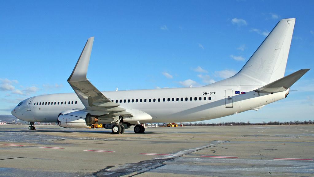 OM-GTF - B738 - Enter Air