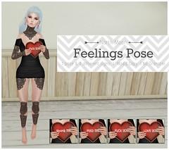 :North Moon: feelings pose Ad
