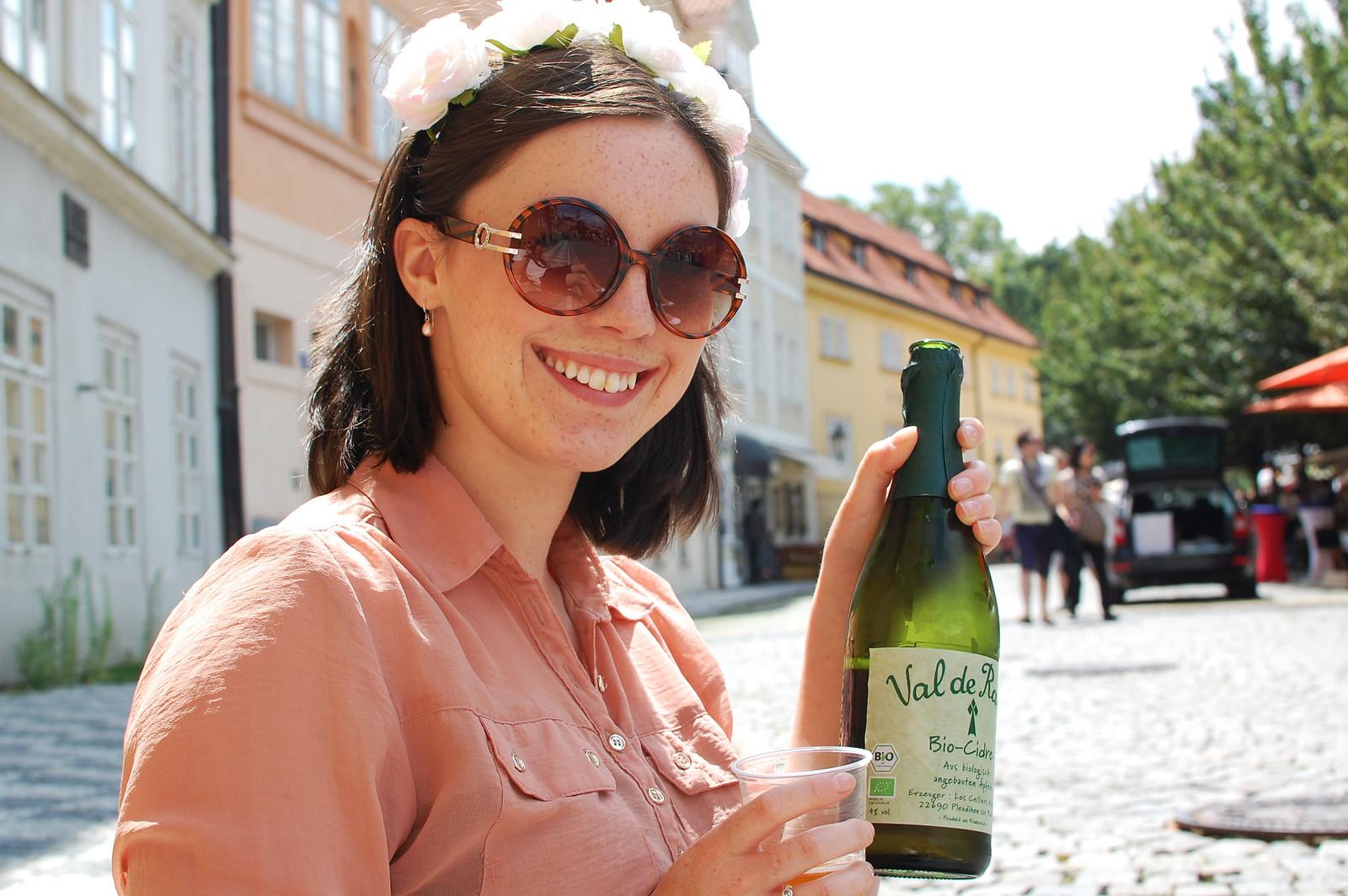 Prague food and drink travel blogger UK