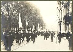 Fotoalbum Liberale Volksbond van Gent-Eeklo, 1909 | Photo album of the Liberale Volksbond Gent-Eeklo, 1909