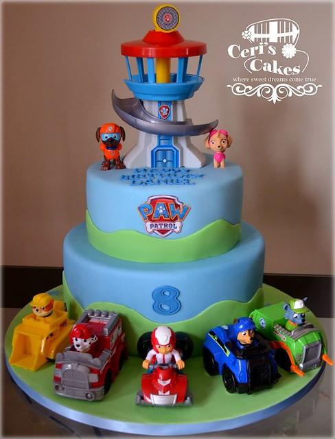 Paw Patrol Cake by Ceri's Cakes