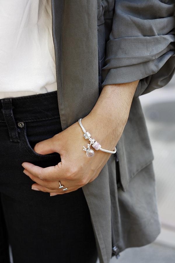 DIY 925 silver charm bracelet