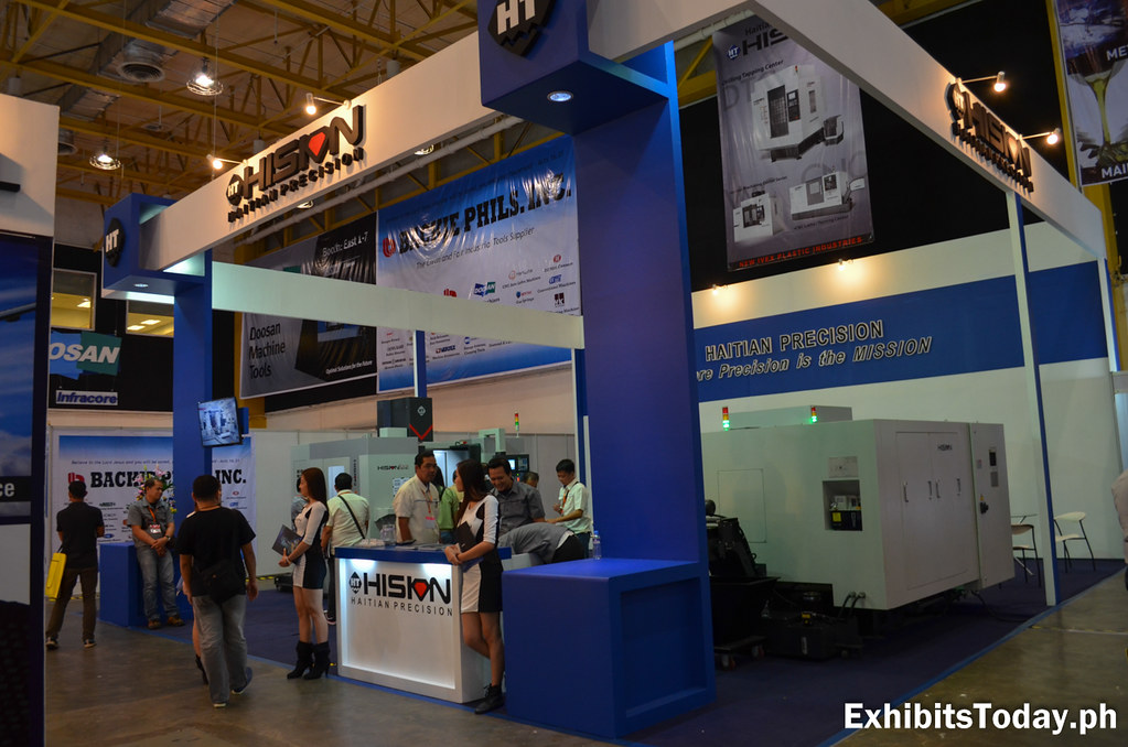 Hision CNC Tradeshow Booth Display
