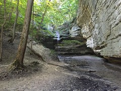 Starved Rock Ottawa Canyon Hike Sept 2015