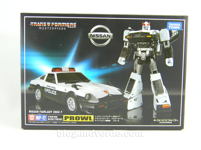 Transformers Prowl Masterpiece - caja