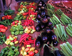 Tanzania- Vegetables are also colorful