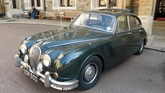 executive car(0.0), jaguar mark ix(0.0), convertible(0.0), sports car(0.0), automobile(1.0), daimler 250(1.0), jaguar mark 2(1.0), vehicle(1.0), jaguar mark 1(1.0), mitsuoka viewt(1.0), jaguar xk150(1.0), antique car(1.0), sedan(1.0), classic car(1.0), vintage car(1.0), land vehicle(1.0), luxury vehicle(1.0), jaguar s-type(1.0),