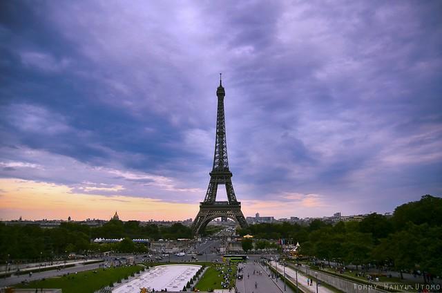 Paris 1 (Paris Summer HDR) Euro Trip by @tw.utomo