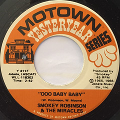 SMOKEY ROBINSON & THE MIRACLES:THE TRACKS OF MY TEARS(LABEL SIDE-B)
