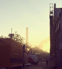 sunrise. Almost time for the party. #leiden #leidensontzet #3oktober #sunrise #netherlands