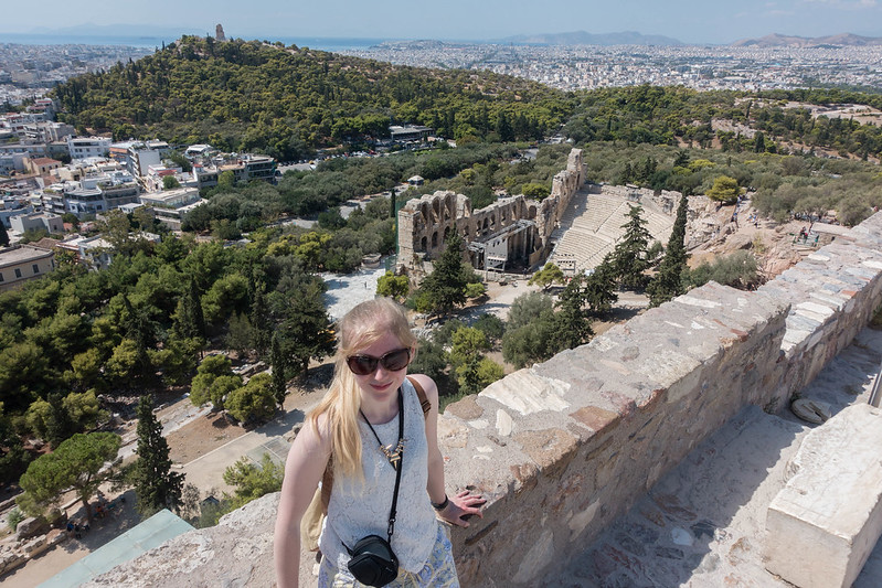 Visiting the Acropolis, 14 September 2015 049-1