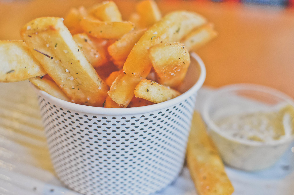 Thick-Cut Hot Chips