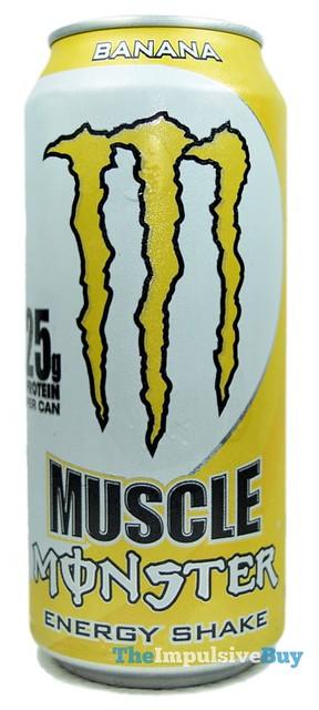 Muscle Monster Banana Energy Shake