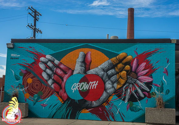 Marathon and Murals in Detroit
