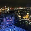 View from the top of the London Eye.