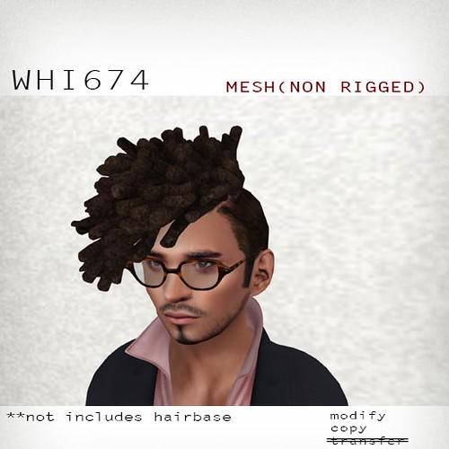 booN WHI674 hair