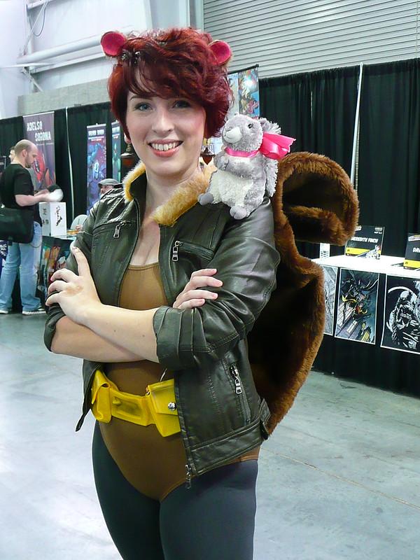 Great Comic-Con Costume Unbeatable Squirrel Girl -4854