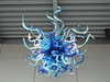 Olympic Blue and Turquoise Chandelier by procrast8