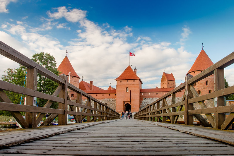 Bridge - Troki - Trakai Island Castle