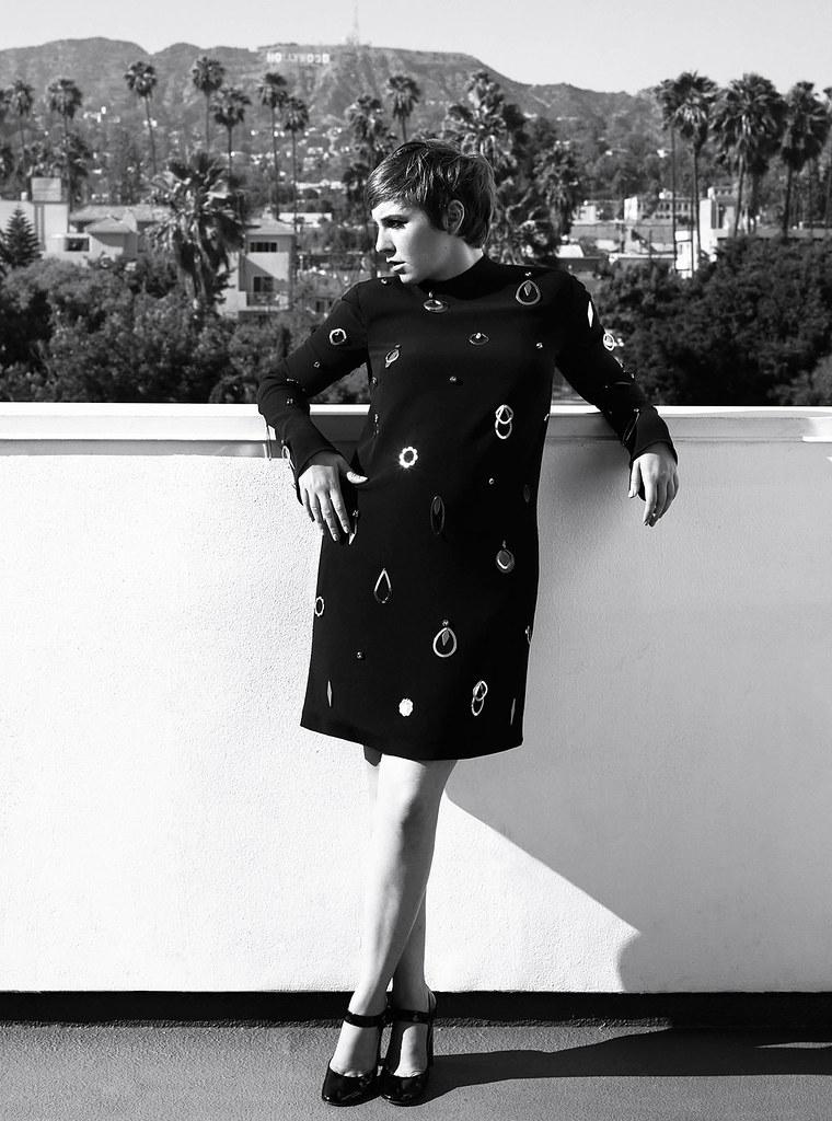 Лина Данэм — Фотосессия для «Harper's Bazaar» 2015 – 2