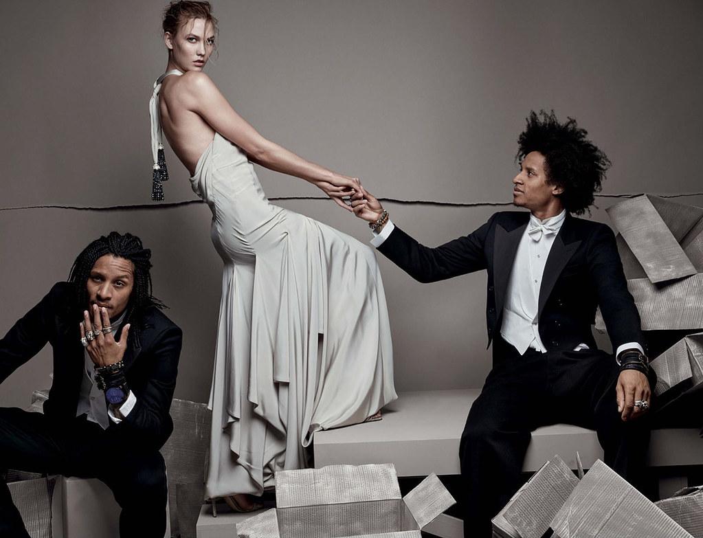 Карли Клосс — Фотосессия для «Vogue» UK 2015 – 2