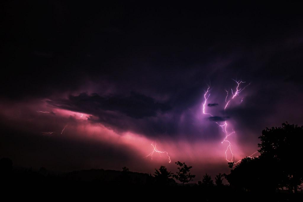 Thunderstorm, Rosendahl, Germany, 06-06-2014