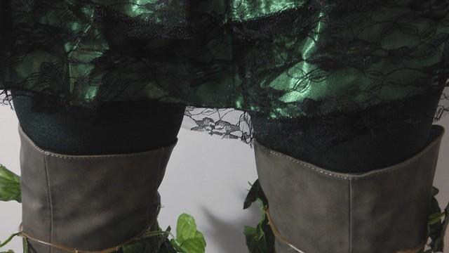 Poison Ivy Costume 2
