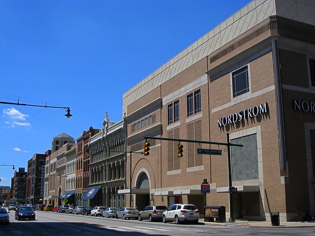 Indianapolis Indiana ~ Circle Center Mall ~Downtown Historic Buildings