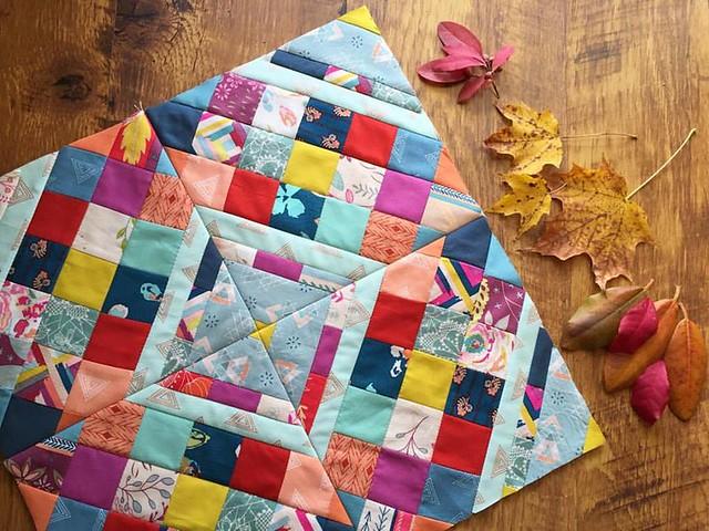 Criss Cross Diamond Pillow