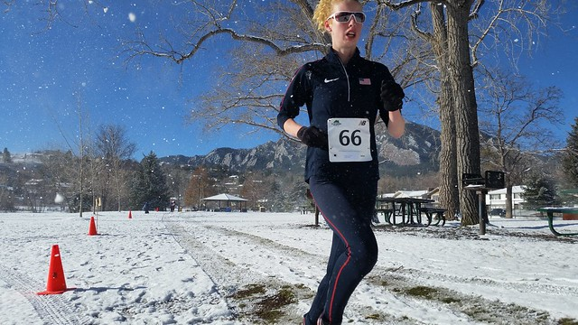 Tabor Scholl taking control of the Colorado Club XC Championships
