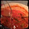 #homemade Sun-dried Tomato & Artichoke Sauce #CucinaDelloZio - add more stock if needed